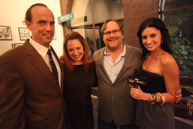 John Farley, Carissa Kosta, Kevin Farley, Second City Hollywood Grand Re-Opening