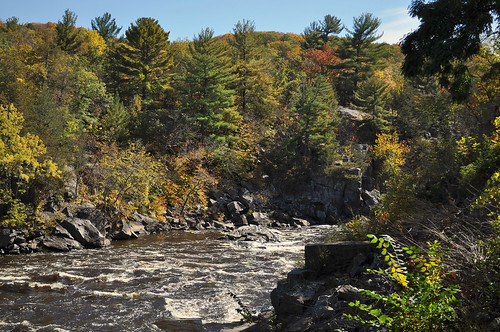 Autumn in Taylors Falls on the St Croix