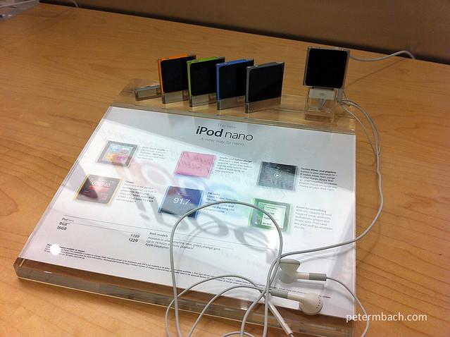 iPod Nano Impressions