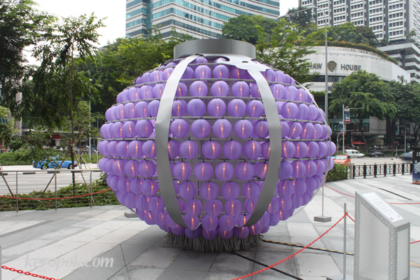 Purple Large Lantern