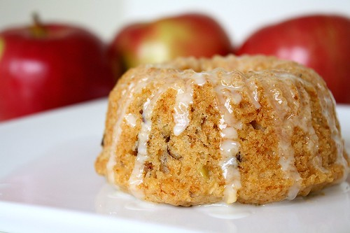TWD Double Apple Mini Bundt Cakes