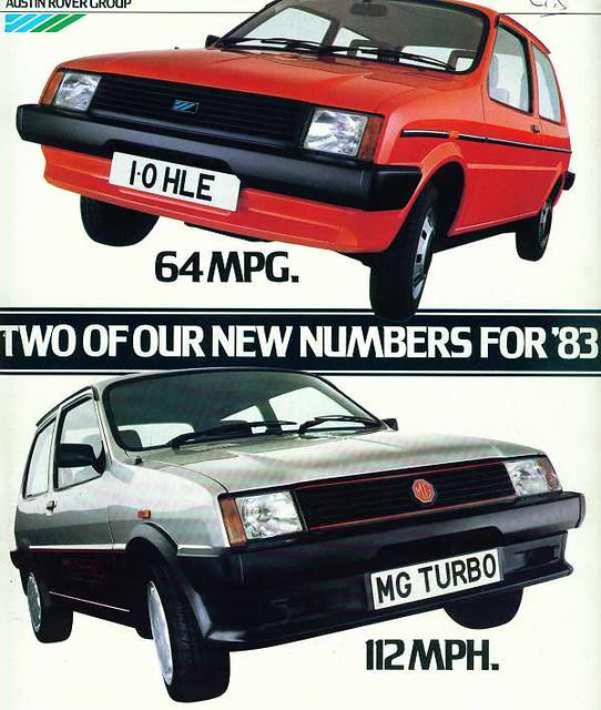 1983 Austin-MG Metro advert