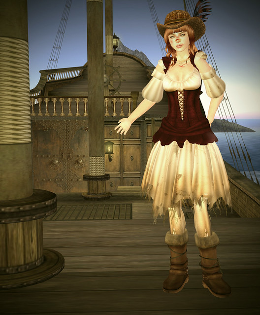 a pirate lass for me?