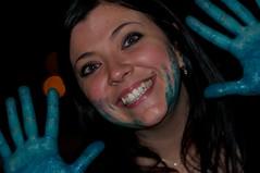 Il puffo sorriso (marcogialdi) Tags: night outdoor goodbye 18 ricordi noemi handpainting nodramas pentesilea cimnysparty