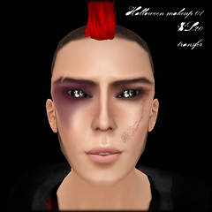 A:S:S - Halloween makeup - 01