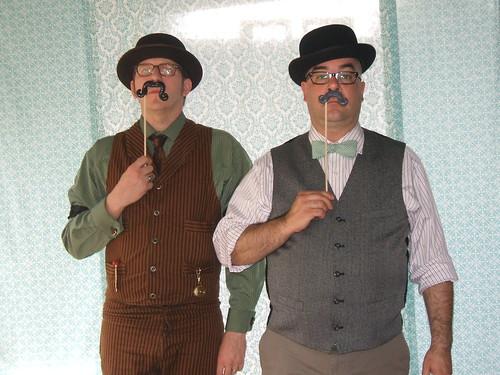 Mustache Antics