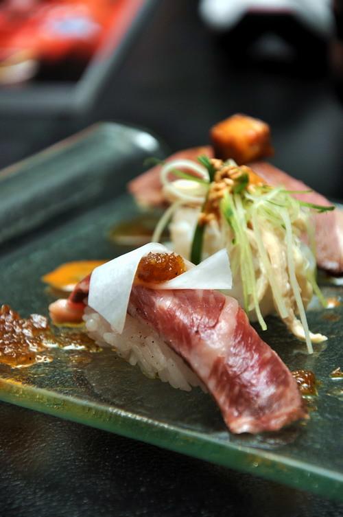 sushi wagyu sirloin