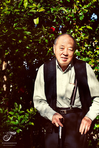 Portrait Photography - Grandpa Watson