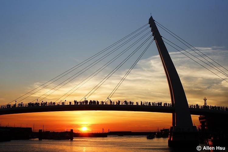 Lover Bridge - Danshuei Fisher Wharf