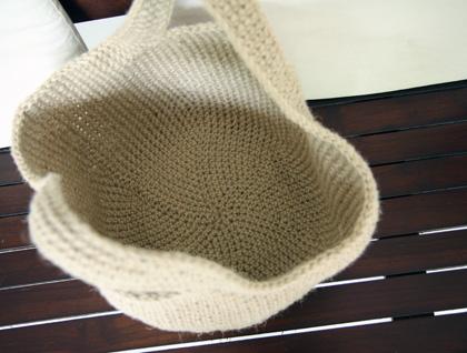 Jute Casserole Basket - e-Patterns, Downloadable Patterns