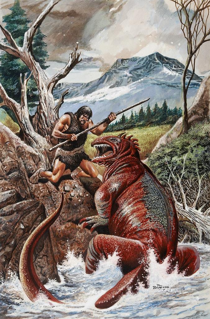 Pat Boyette - Korg: 70,000 B.C. #3
