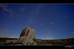 existence (Eric 5D Mark III) Tags: california longexposure sky rock stone night landscape star nationalpark desert joshuatree wideangle midnight campground whitetank milkyway ef14mmf28liiusm