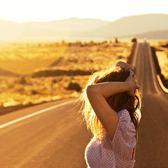 (yyellowbird) Tags: road sunset girl oregon square roadtrip explore cari frontpage