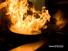 kitchen flambe