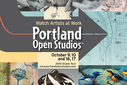Portland Open Studios Tour This Weekend: 100 Locations Around Metro Portland