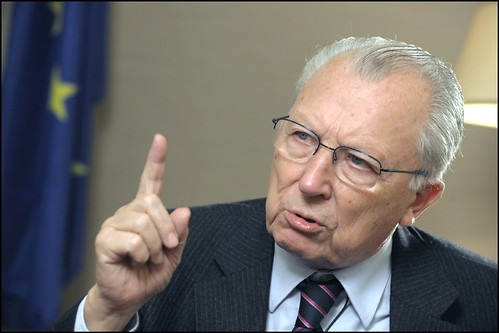 "Jacques Delors: Europe needs a ""soul"" by European Parliament"