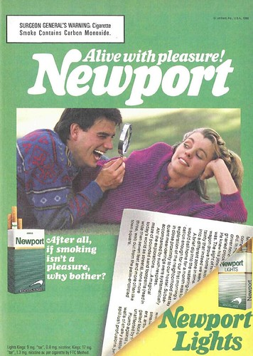 Newport Cigarettes Advertisement