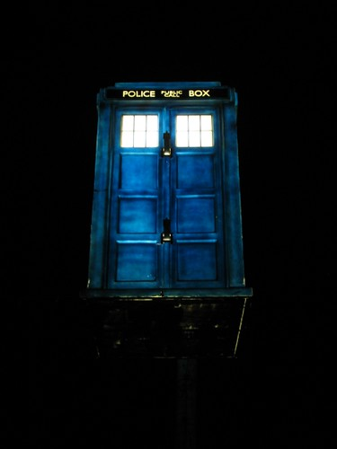 Blackpool Illuminations Dr Who Tardis