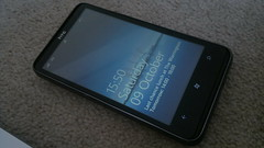 HTC HD7 running Windows Mobile 7