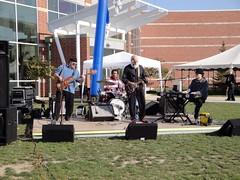 Performing at Trine U