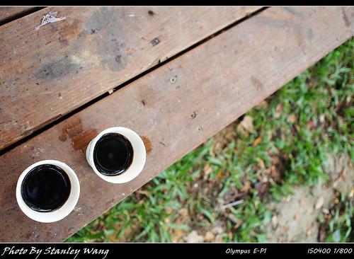 小露營區  早晨羨煞人的咖啡