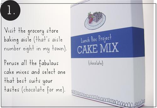 Step 1: Joy Cupcake