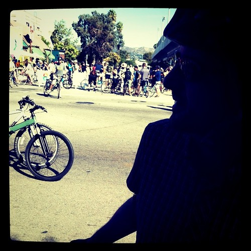 Beginning of CicLAvia