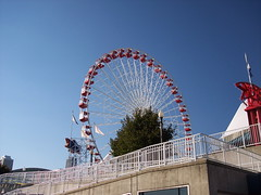 Navy Pier Ferris Wheel (Mike Chunko) Tags: boats lakemichigan ferriswheel navypier trumptower chicagoriver johnhancockcenter chicagoillinois smithandwollensky aquatower skyscrapersmetra