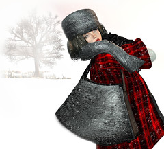 First Snow/ Purse (elisabethvilliers) Tags: tram shinythings domoco mynerva muism dpyumyum milkmotion lelutka