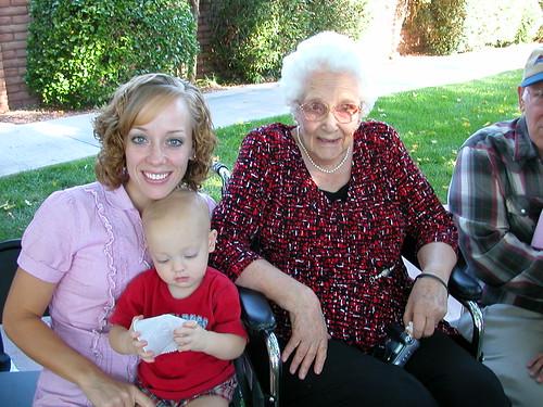 Oct 2 2010 Ruth Elden Grandma Lena Bartholomew
