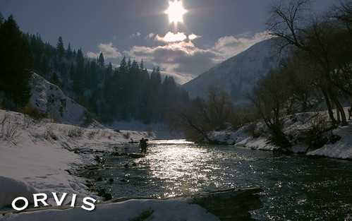 Orvis Fly Fishing Contest - Provo winter