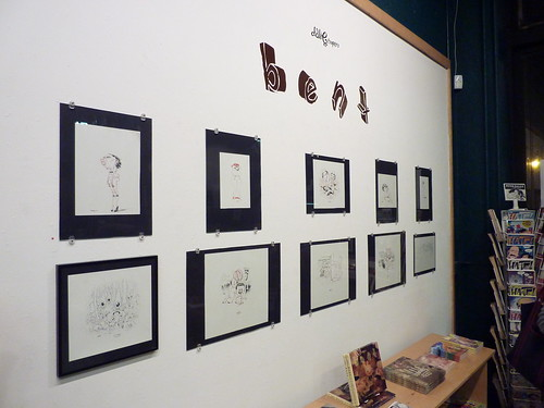 Dave Cooper's Bent exhibit at Fantagraphics Bookstore & Gallery, Oct. 9, 2010