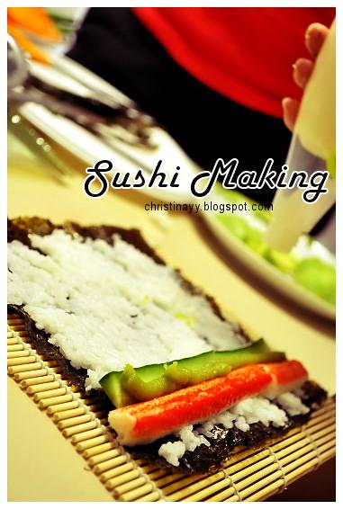 Pre-Birthday Preparation: Sushi Making