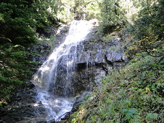 Falls below Eunice Lake.