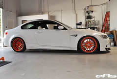 Whie e92 M3 Tightie 3 (european auto source) Tags: orange white wheels bmw brakes m3 vmr stoptech e92 vb3