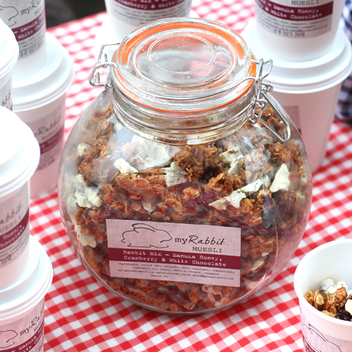 rabbit mix granola