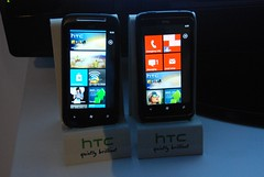 HTC 7 Mozart and HTC 7 Trophy
