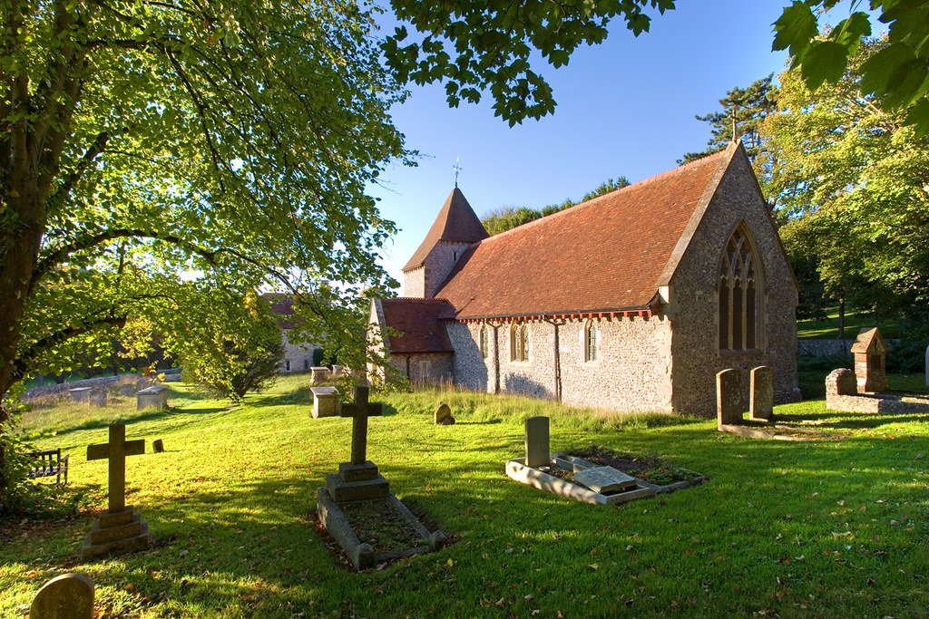 All Saints Church, West Dean