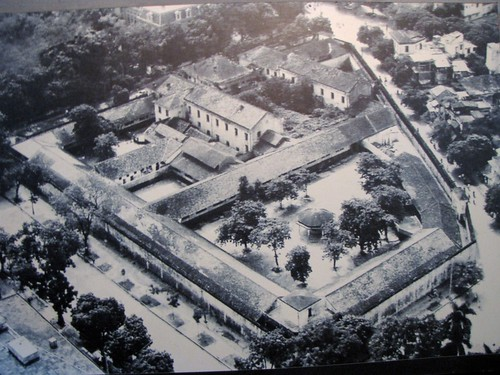 Hoa Lo Prison - As It Was Before Western Section Torn Down for Skyscraper