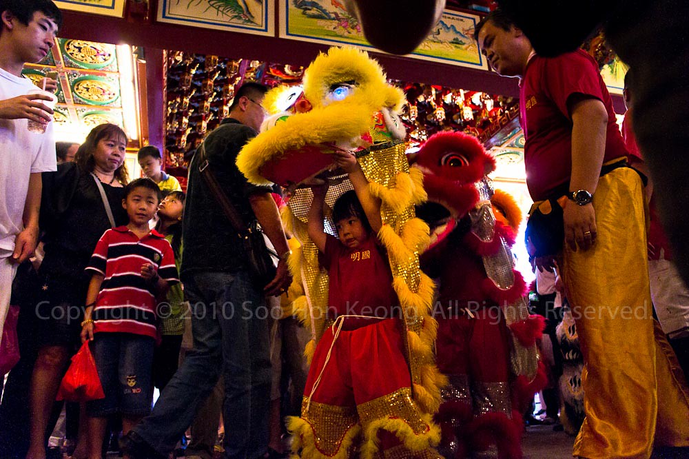 Lion Dance @ Nine Emperor Gods Festival, Ampang, Malaysia