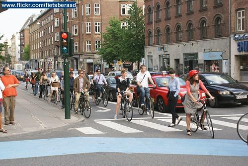 Copenhagen Bike Parade op Velocity 2010