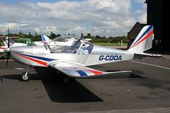 G-CDOA - 2005 build Aerotechnik EV-97 Eurostar, Barton resident (egcc) Tags: eurostar barton ev97 aerotechnik cityairportmanchester egcb mainairflyingschool gcdoa