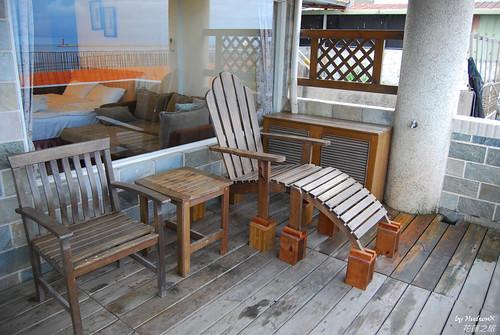 可以看海的躺椅