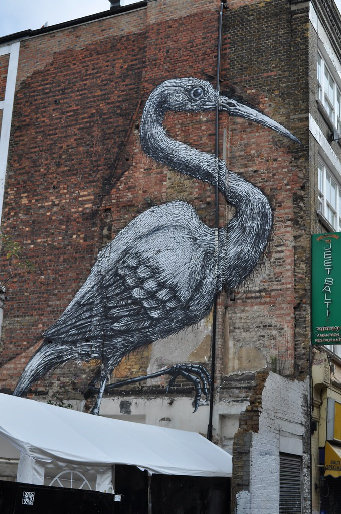 Shoreditch Graffiti: Street Artists