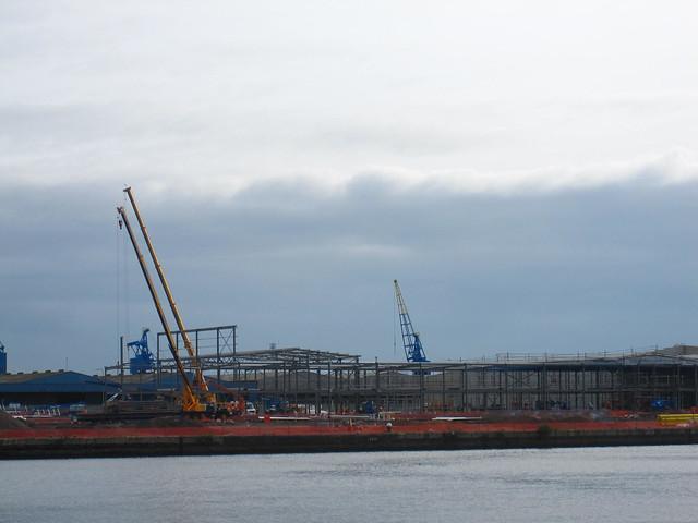 BBC under construction Roath Basin 2