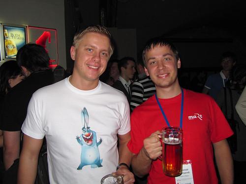 Сергей Чикуёнок и Николай Корецкий