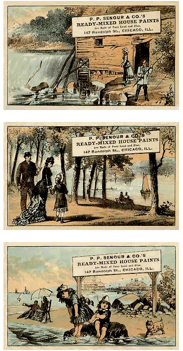 1890s_Trade Cards SET_Adverts for Paint_#4-6_364