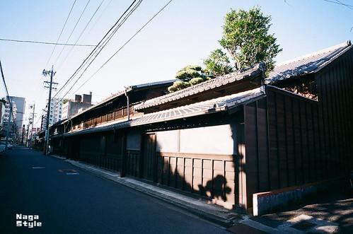 昔ながらの建物