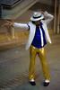 Michael Jackson (Walter Pellegrini) Tags: portrait italy anime rome roma michael costume nikon comic cosplay sunday manga jackson videogames convention cosplayer 700 2010 domenica fiera fumetto romics ritrattireportage