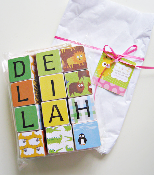modern baby blocks+etsy+packaging, baby blocks